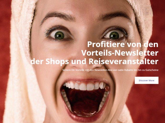 Jetzt Profitieren! Mit den Rabattgutscheinen und viele attraktive Vorteile mit den Vorteilsnewslettern des Versandhandel & Reiseveranstalter